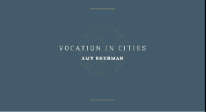vocation in cities